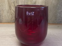 DUTZ Collection Glasvase Barrel Red 18 x 14 cm