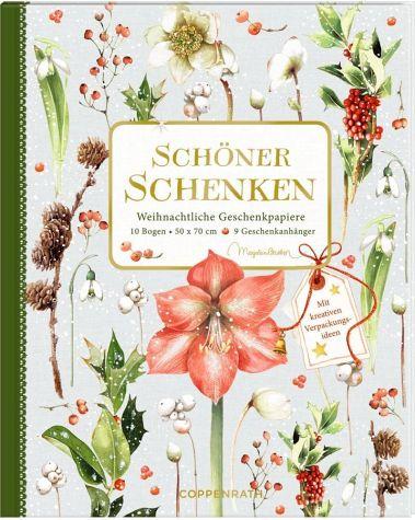 Geschenkpapier Buch - Schöner schenken