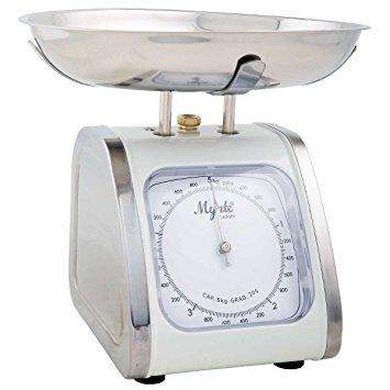 IB Laursen Küchenwaage Mynte silber 5 kg