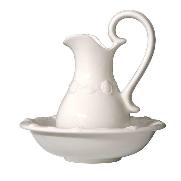 IB Laursen Waschsatz Medium weiß