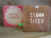 Bierdeckel Kaffee Klatsch Stammtisch