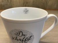 Krasilnikoff Danish Design, Happy Cup Du schaffst das!