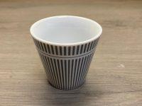 Krasilnikoff Danish Design, Espresso Cup gestreift